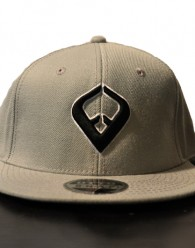 LIVE IT SNAPBACK GRAY 6-panel Cap Seamed Front Panel with Full Buckram 6 Embroidered Eyelets Matching Crown Color Pro Stitch on Crown 8 Rows Stitching on Visor Gray Undervisor Plastic Snap Closure Embroidered:...