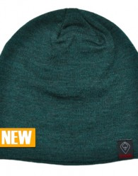 Slouch Live It Beanie Jade55% Acrylic 45% Polyester With Fear To Faith Logo Tagged   CLICK IMAGES TO ENLARGE Graphite