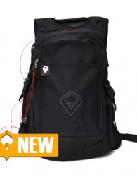 FTF Trek Backpack Material: 600D polyester w/heavy vinyl backing Size: 15 W x 21-1/2 H x 9 D Going on a trek? to school? to work? to surf, skate, snowboard,...