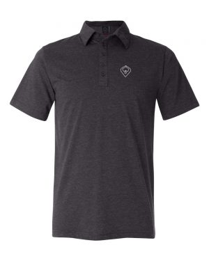 POLO-DK-GRAY-HEATHER