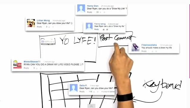 Draw My Life Ryan Higa Fear To Faith Tv